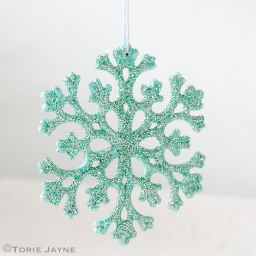 Glittered Snowflake