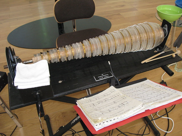 IMG_2693  Electric Glass Harmonica at Nottingham Contemporary Art Gallery