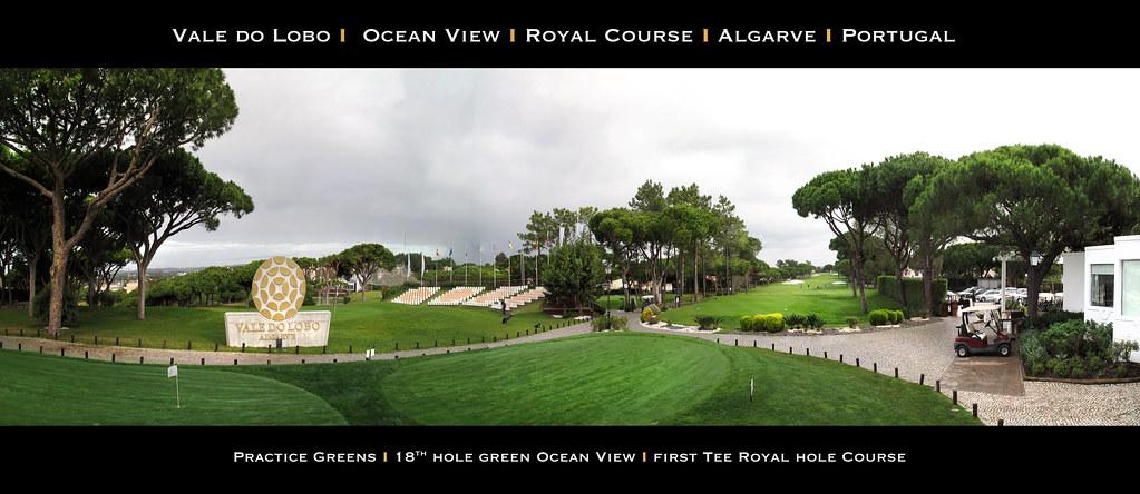 Vale Do Lobo Golfcourse, Algarve, Portugal