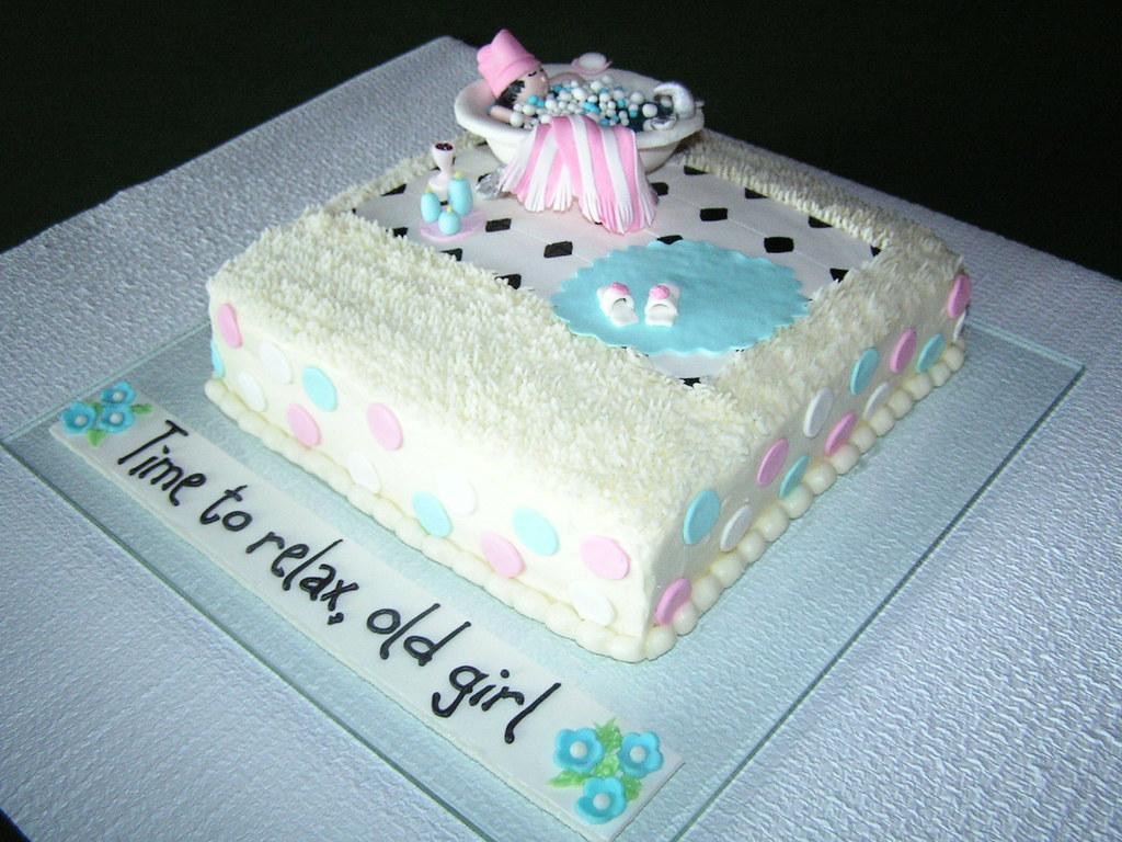 Cool Nancys 65Th Birthday Cake Chocolate Cake With Fresh Raspb Flickr Funny Birthday Cards Online Benoljebrpdamsfinfo