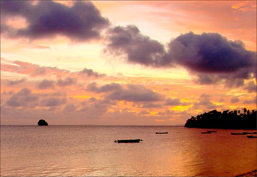 travel beach clouds sunrise indonesia ngc maluku yamdena tanimbar