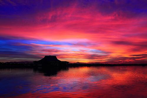 sunset arizona colors az tca tempe img4203 canonef2470mmf28lusmlens tempecenterforthearts canoneos5dmarkiicamera grantbrummett