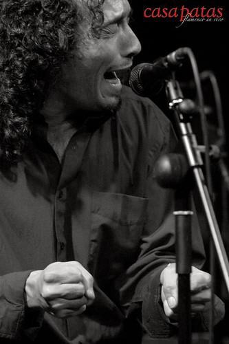 """Antonio Amador """"El Ciervo"""", cantaor. Foto: Martín Guerrero"""