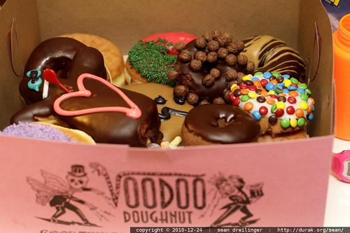 baker's dozen voodoo doughnuts   food in focus