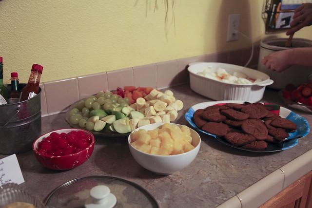 Christmas Eve Fondue Party