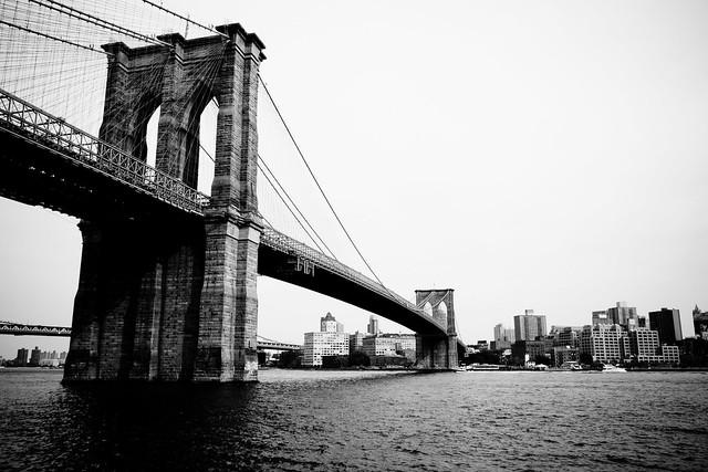 Brooklyn Bridge in New York City by flickr user ugod
