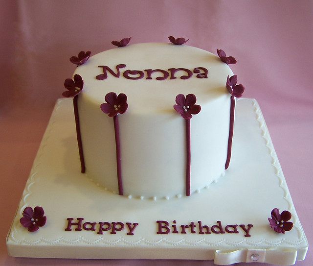 Elegant Cake Designs Birthday Cakes : Elegant Birthday Cake Flickr - Photo Sharing!
