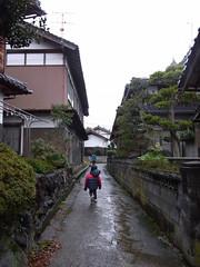 路地裏の散歩道