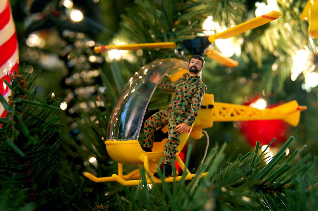 2004 G.I. Joe Helicopter Ornament
