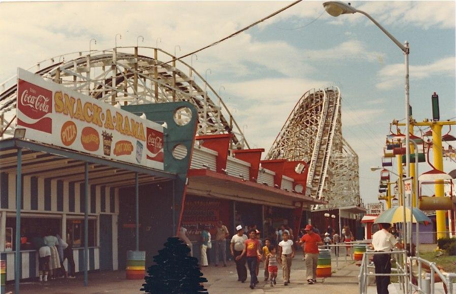 Paragon Park 1984 Snack A Rama
