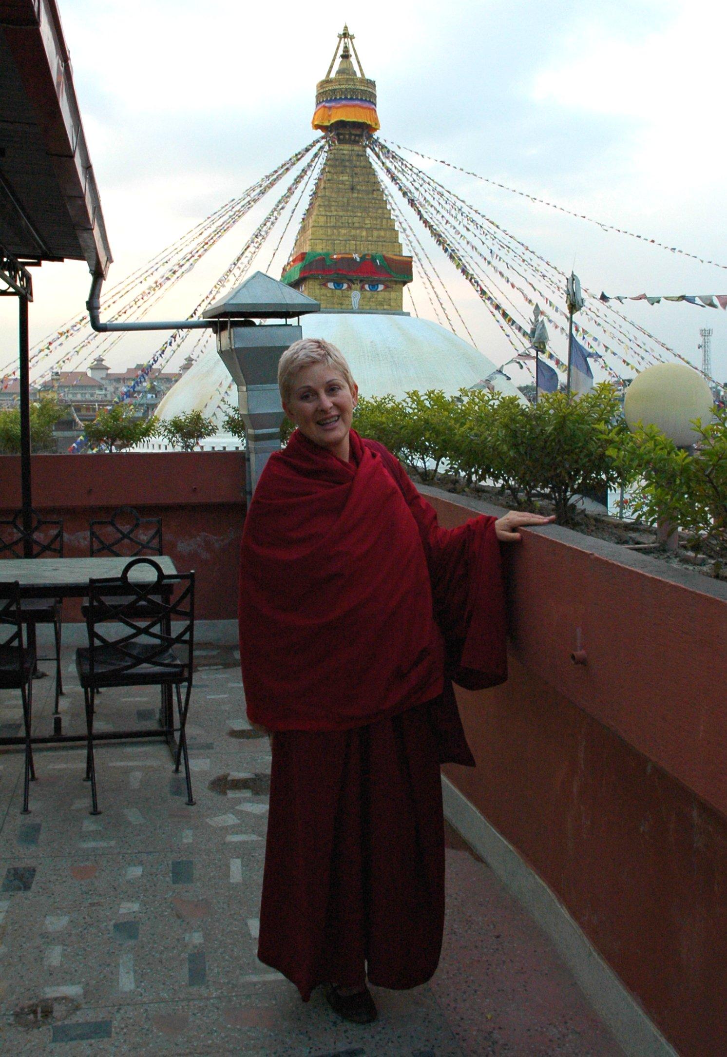 become a buddhist