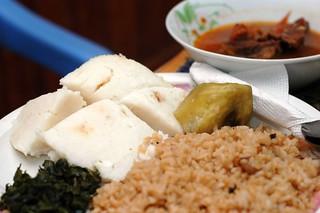 Traditional Ugandan Meal