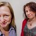 Gitta Willén och Lotta Holmström by pellesten