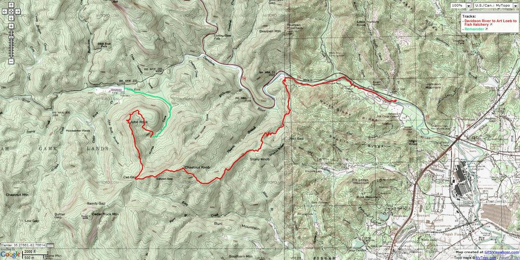 Hike To Johns Rock Via Art Loeb Trail Flickr Photo