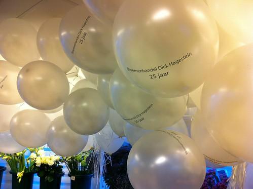 Heliumballonnen Bloemenhandel Dick Hagestein Oostvoorne