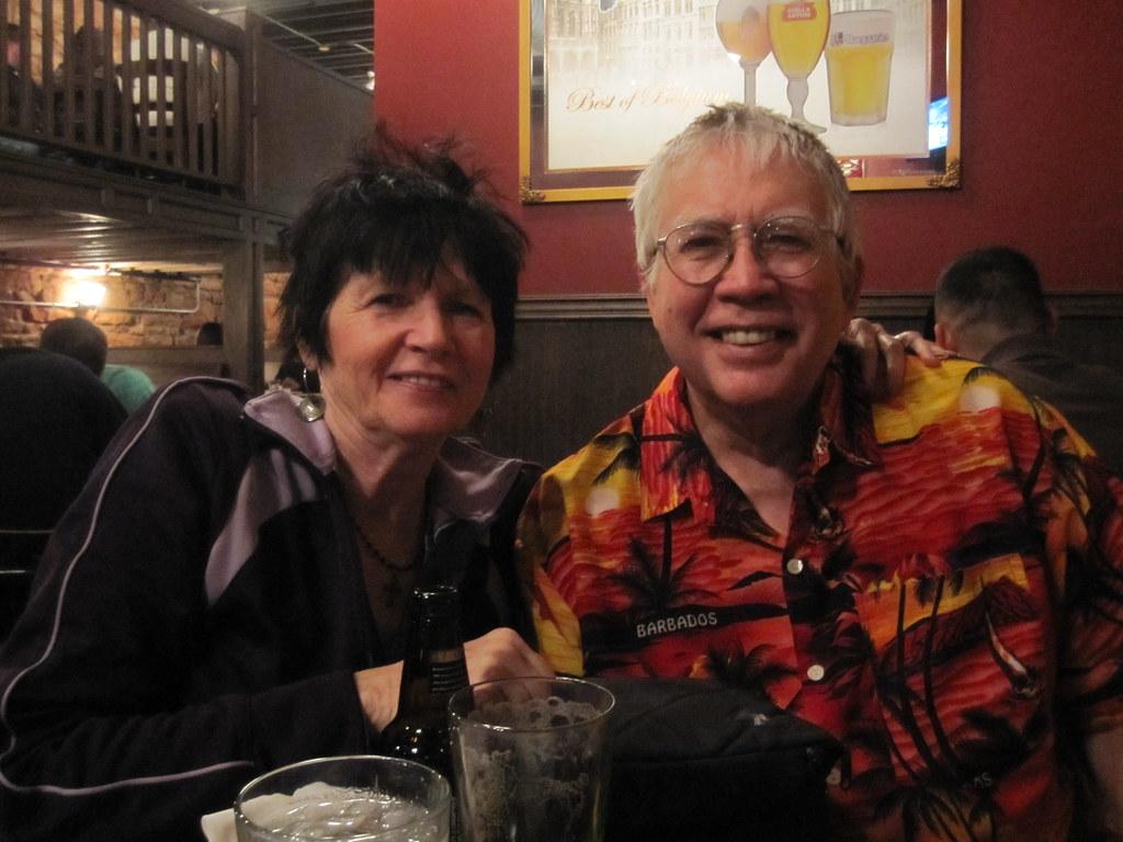 Me & Ethel Pubbin'