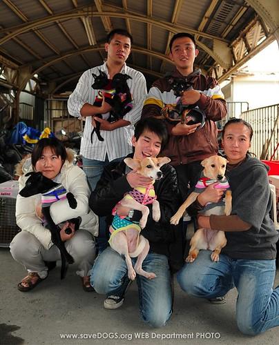 Gong Li saveDOGS   01/21飛往西雅圖17隻幸福è²