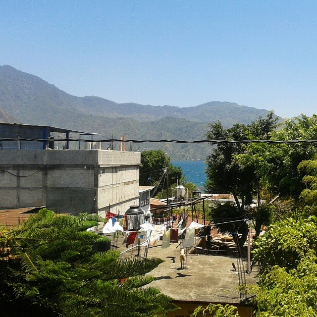 San Pedro la Laguna Atitlan-järvellä, Guatemalassa