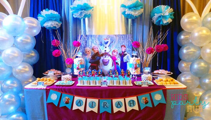 Disney Frozen Party Theme