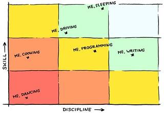 FIGURE 10.4 Discipline-Skill Grid