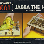 "KENNER :: Star Wars - Return of the Jedi  ""JABBA THE HUTT"" ACTION PLAYSET ii (( 1983 ))"