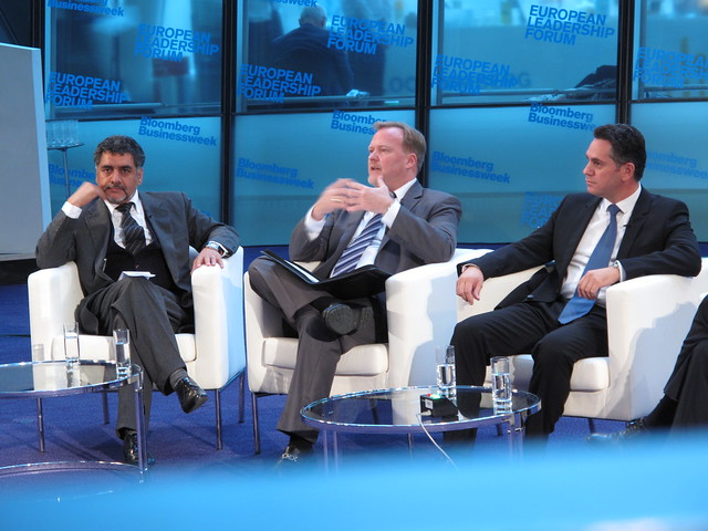 James Caan, CEO, Hamilton Bradshaw Ken Jones, Chief Operating Officer, Astellas Pharma Europe Ltd. Nicholas Papadopoulos, Chairman of the House Standing Committee on Financial and Budgetary Affairs, House of Representatives, Republic of Cyprus