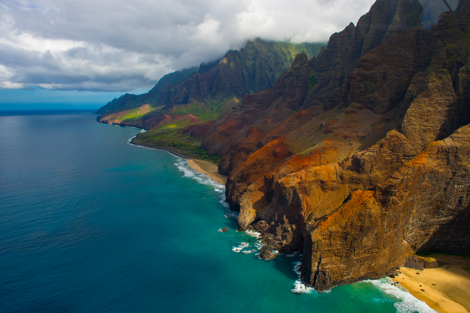 how to get best pictures of na pali cost