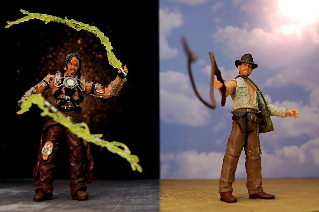 Ivan Vanko vs. Indiana Jones (335/365)