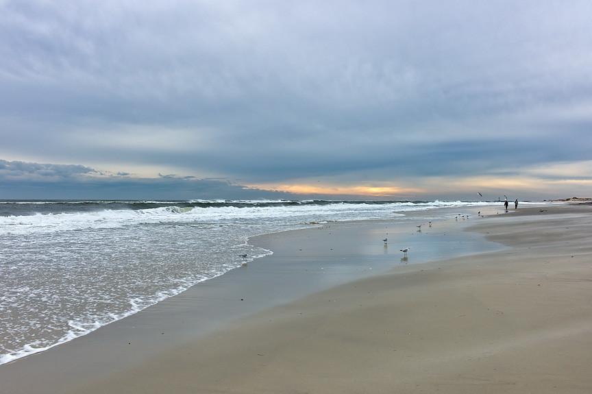Stewart Beach Galveston Stewart Beach in Early