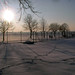 Tempelhofer Feld im Winter by onnola