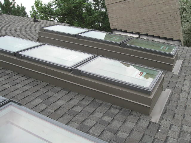 New Velux Skylights