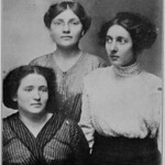 Cleveland strikers Florence Shalor, Rose Becker, and Ida Baxt [Ida Baxter]