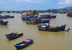 Fishermen's Life in Nha Trang, Vietnam