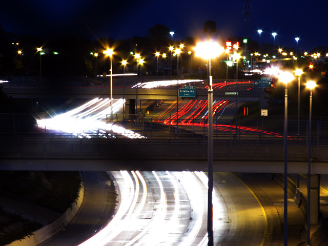 Just another freeway-in-the-evening set.