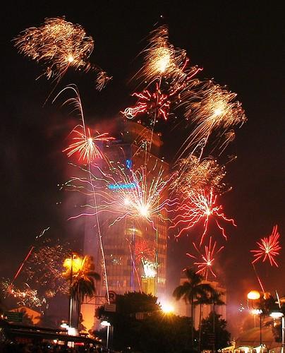 New Year 2011 in Jakarta