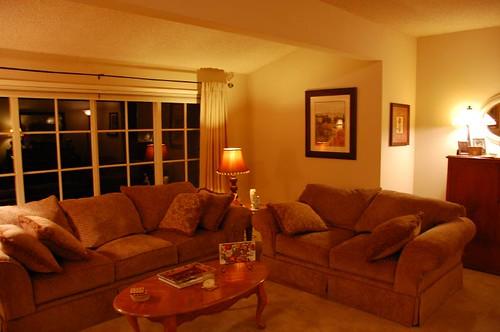 Winter Evening- Living Room