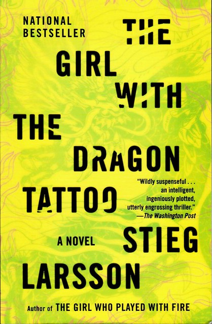 Photo for Book series girl with the dragon tattoo