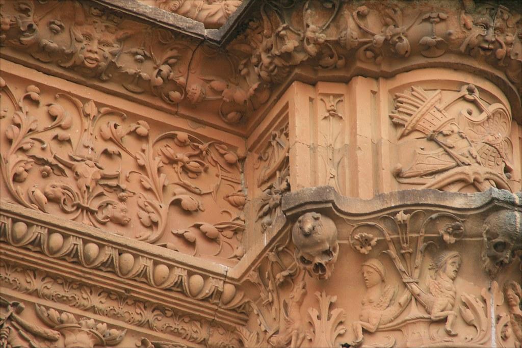 Salamanca.Fachada de la Universidad.