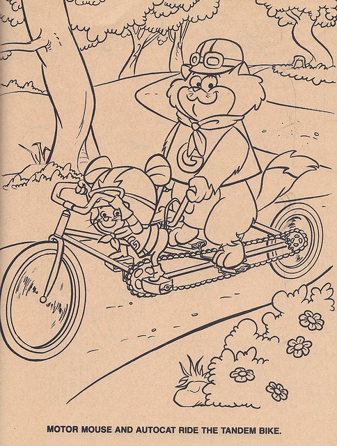 hanna barbera coloring pages - photo#47