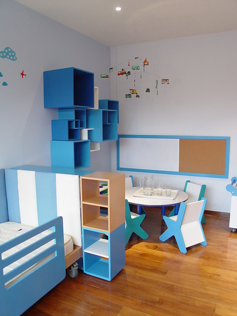 Habitaciones infantiles mobiliario decoracion y - Habitaciones pintadas infantiles ...