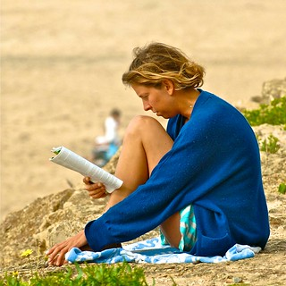 Image of Praia Grande. portrait beach portugal reading book legs reader candid sintra snapshot profile portraiture dtreet ler colares absorbed leitor praiagrande handgestures