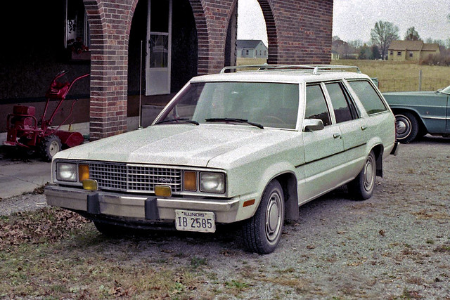 Ford Fairmont Station Wagon - a photo on Flickriver