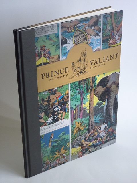 Prince Valiant Vol. 3: 1941-1942 by Hal Foster - front cover