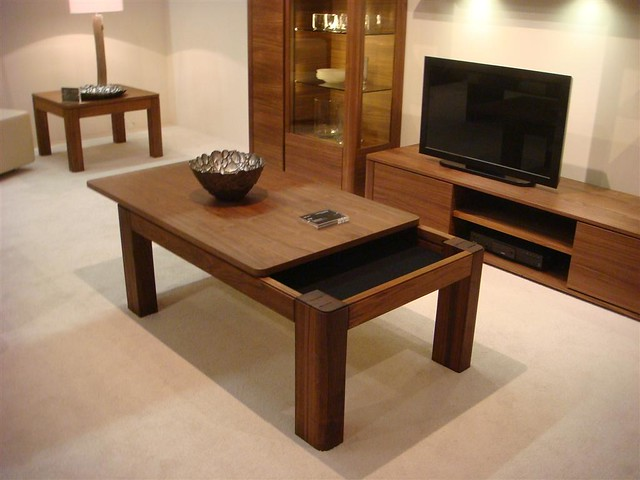Multifunction Coffee Table Why Waste Space In The Middle O