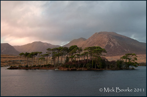 Derryclare lough Connemara Co Galway Ireland.