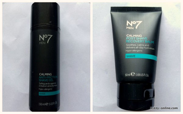 Boots No7 Men Anti-Friction Shave Gel Post Shave Recovery Balm
