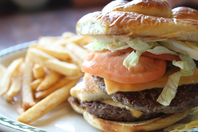 Big Cabin Burger