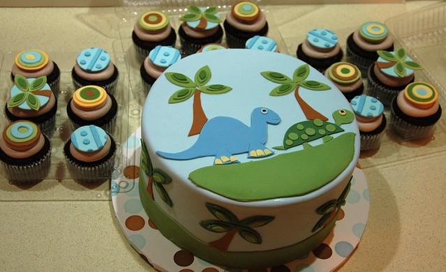 tropical dinosaur baby shower flickr photo sharing