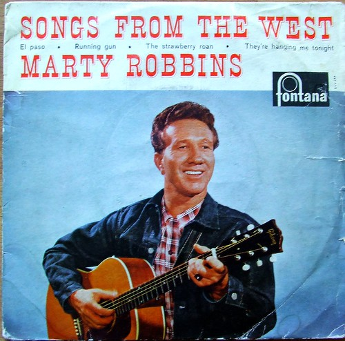 Marty Robbins - Songs From The West EP - Fontana Records ... - photo#26