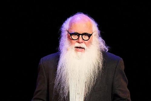接受TED talk邀請在阿姆斯特丹演說的夏比洛(Jan-Jaap Heine攝)